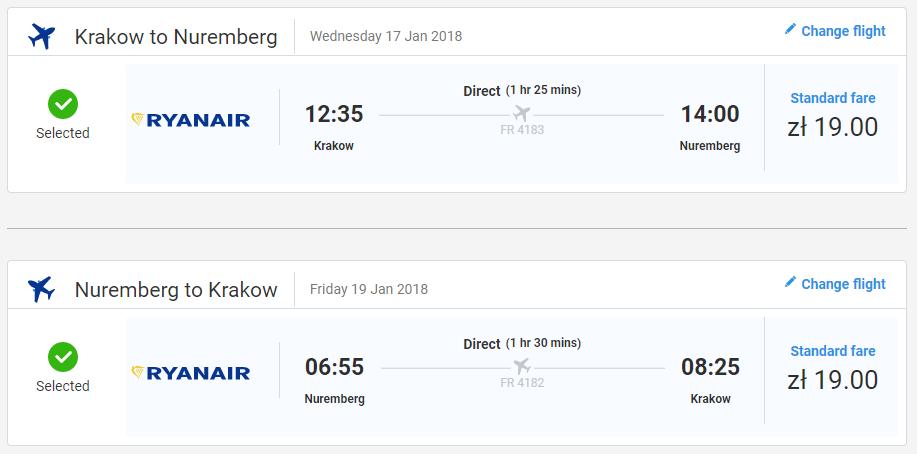 NEMECKO - Norimberg z Krakova s letenkami od 9 eur