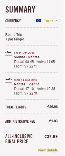 Nantes z Viedne aj na predĺžený víkend s letenkami od 38 eur