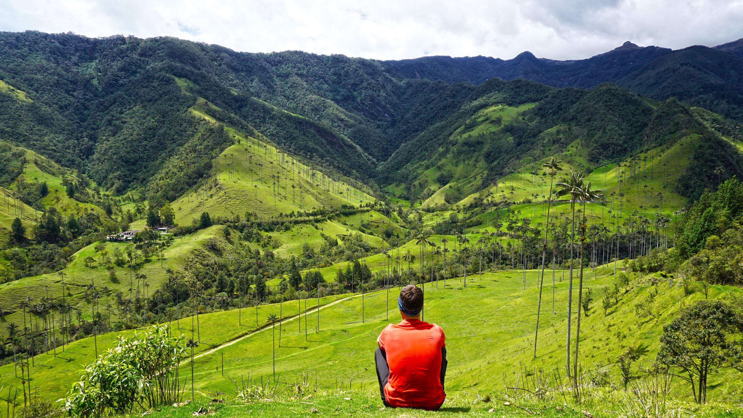 Nezabudnuteľný pohľad na údolie Cocora