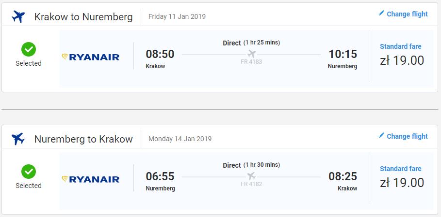 Norimberg z Krakova aj na predĺžený víkend s letenkami od 9 eur