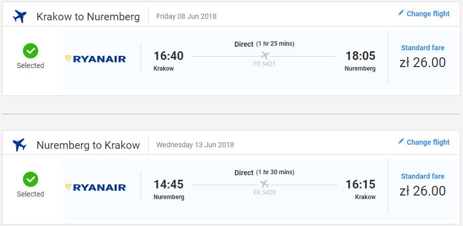Norimberg z Krakova s letenkami od 12 eur