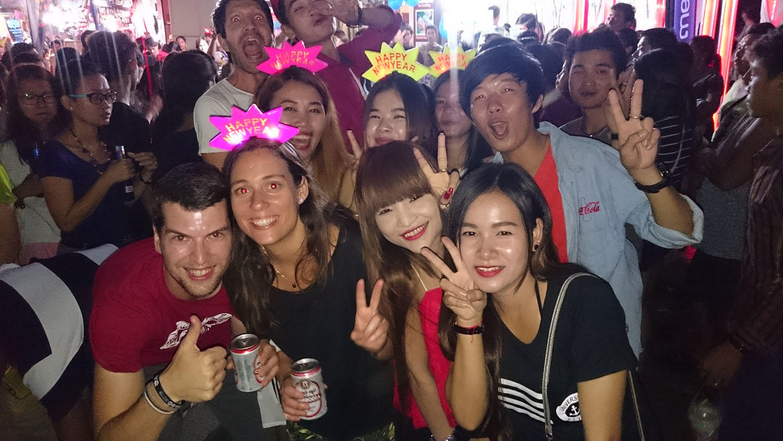 Nový rok v Siem Reap.