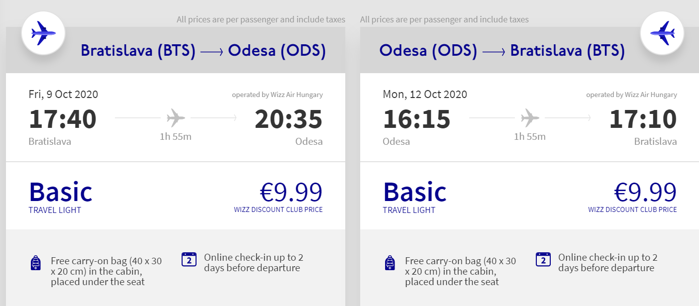 Odesa nie len na predĺžený víkend. Letenky z Bratislavy od 20 eur