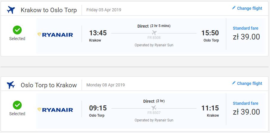 Oslo na predĺžený víkend. Spiatočné letenky z Krakova už od 18 eur