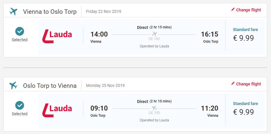 Oslo z Viedne aj na predĺžený víkend s letenkami od 20 eur