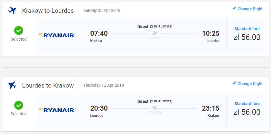 Pútnické Lurdy z Krakova s letenkami od 27 eur
