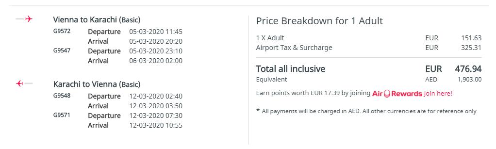 PAKISTAN - Karáči z Viedne s letenkami od 477 eur
