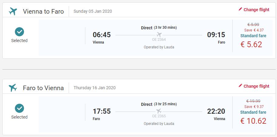 PORTUGALSKO - Faro z Viedne s letenkami už od 16 eur