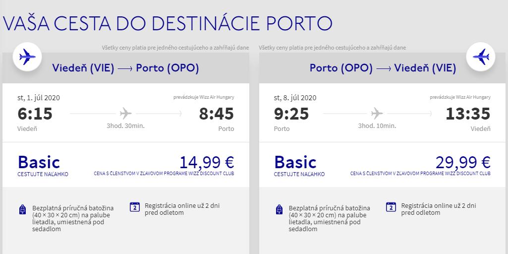 PORTUGALSKO - Porto z Viedne s letenkami už od 45 eur