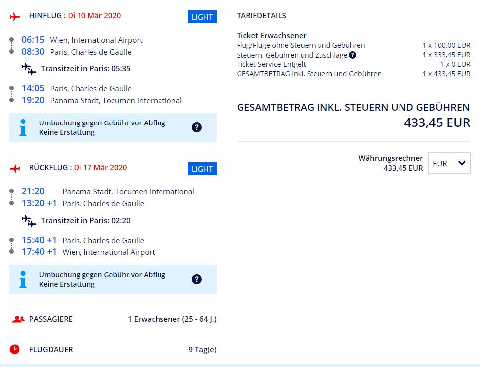 Panama z Viedne s letenkami od 433 eur
