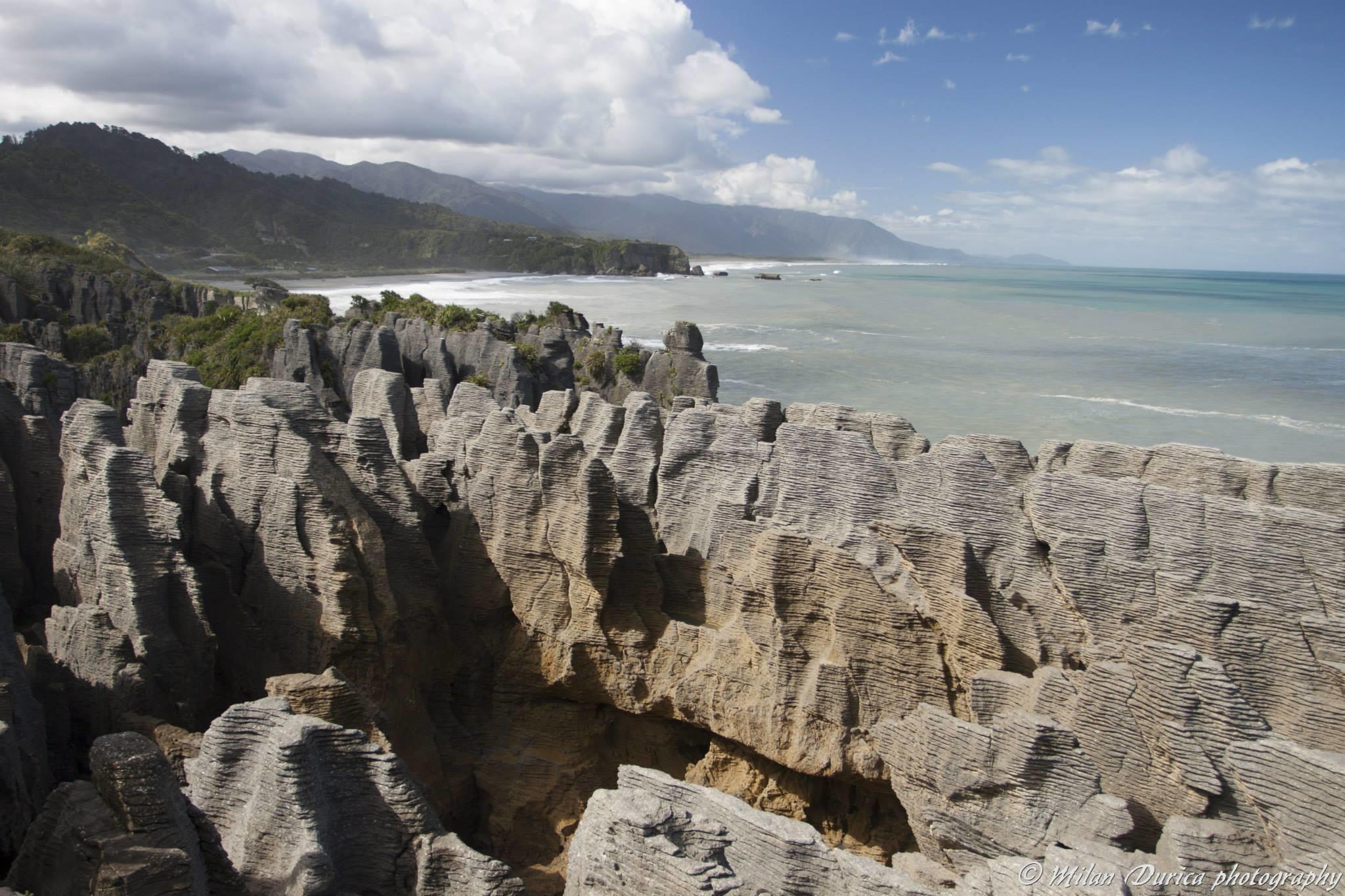 Pancake Rocks  - palacinkové skaly