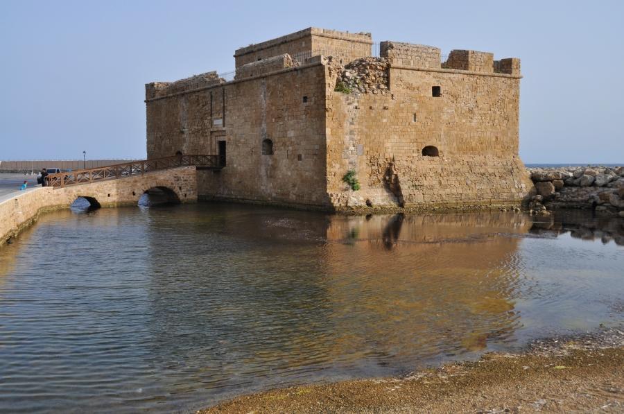 Paphos - križiacka pevnost v prístave