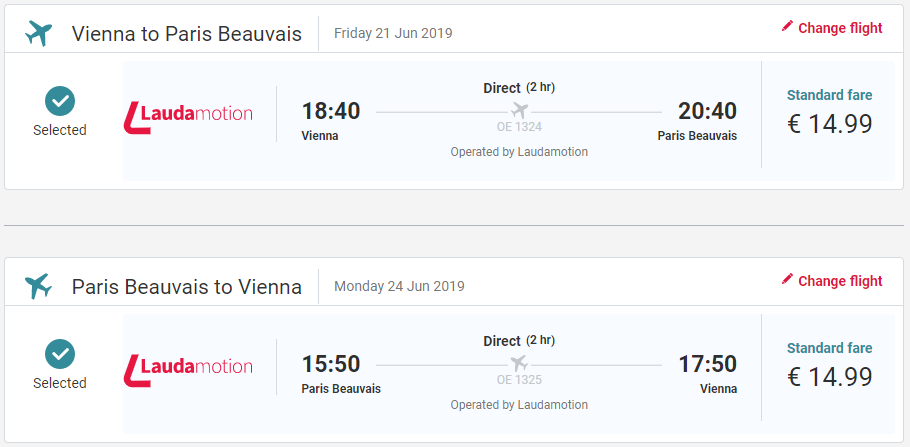 Paríž aj na predĺžený víkend. Spiatočné letenky z Viedne od 30 eur
