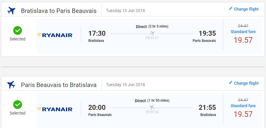 Paríž z Bratislavy začiatkom leta s letenkami už od 39 eur