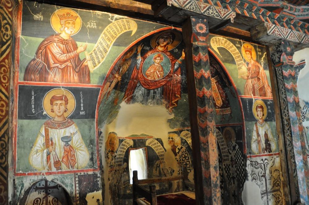 Pedoulas - kostol Michala Archanjela s vzácnou výzdobou