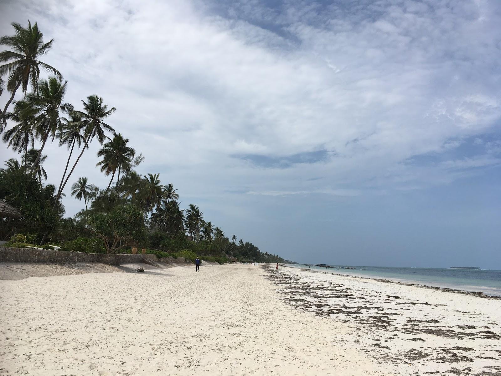 Pláž Matemwe na východnom pobreží Zanzibaru