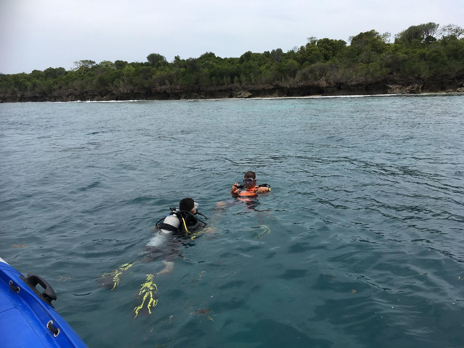 Potápanie, Zanzibar