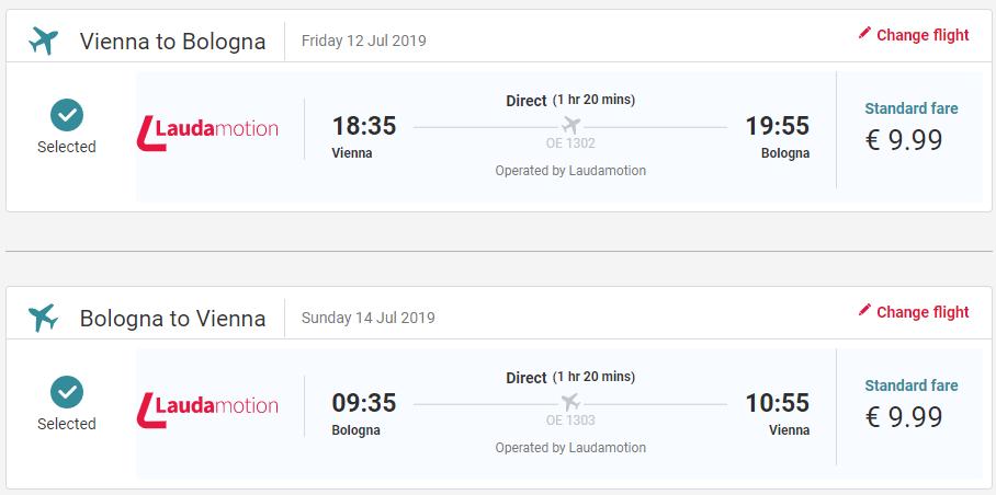 Prázdninová Bologna z Viedne s letenkami aj na víkend od 20 eur