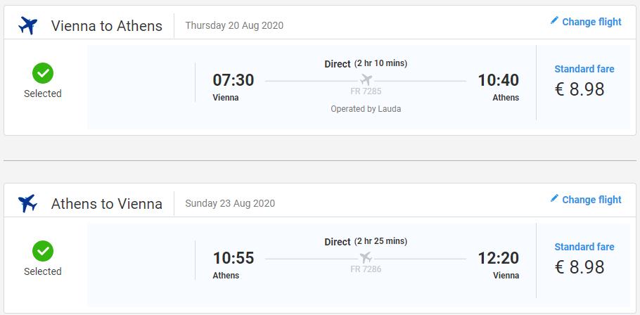 Prázdninové Atény aj na predĺžený víkend. Letenky z Viedne od 18 eur