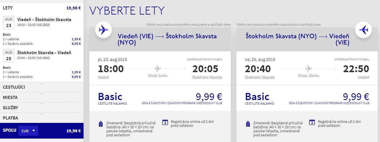 Prázdninový Štokholm z Viedne s letenkami od 20 eur