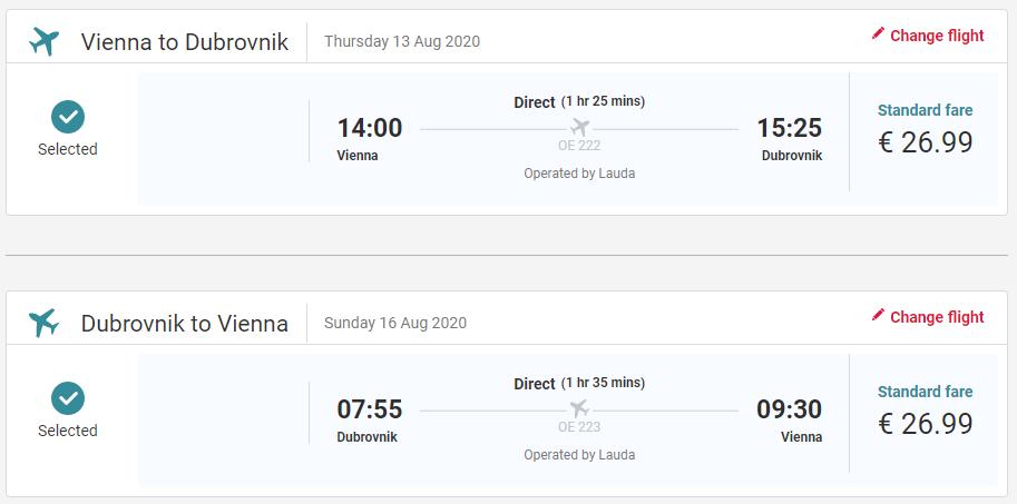 Prázdninový Dubrovník z Viedne aj na predĺžený víkend s letenkami od 54 eur