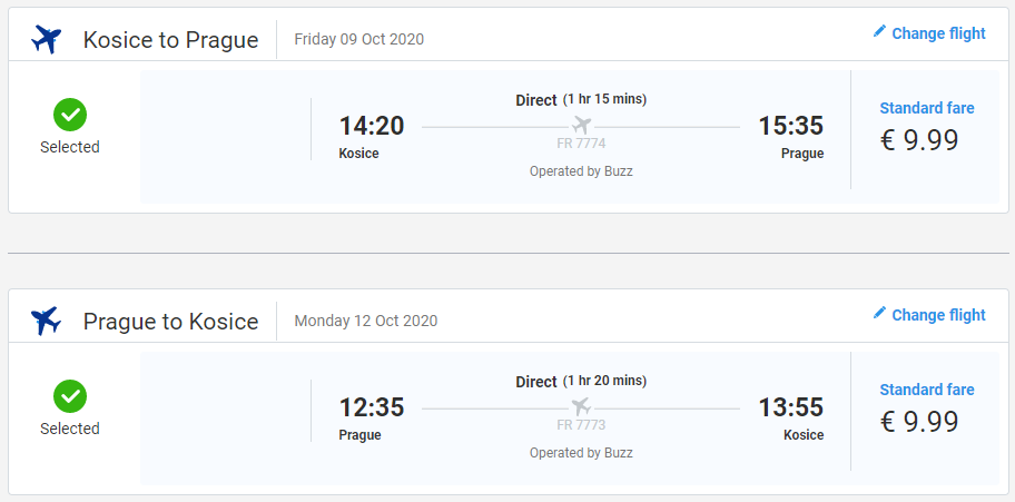 Praha z Košíc nie len na predĺžený víkend. Spiatočné letenky od 20 eur