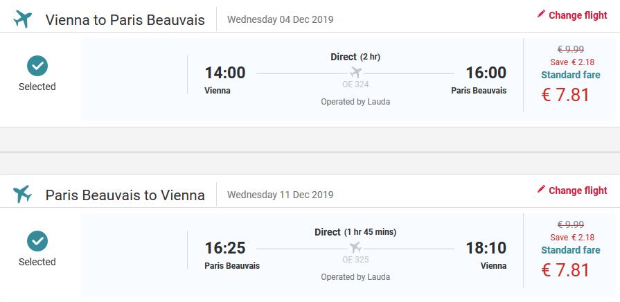 Predvianočný Paríž s letenkami z Viedne od 16 eur