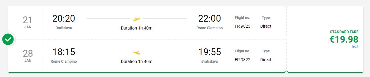 Rím z Bratislavy s letenkami od 20 eur