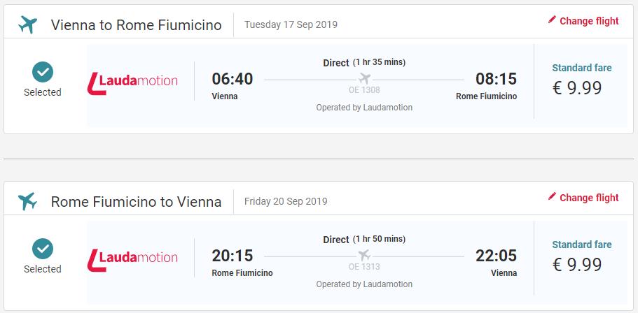 Rím z Viedne koncom leta s letenkami od 20 eur