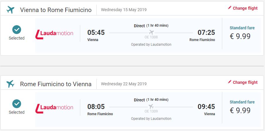 Rím z Viedne počas jari s letenkami od 20 eur