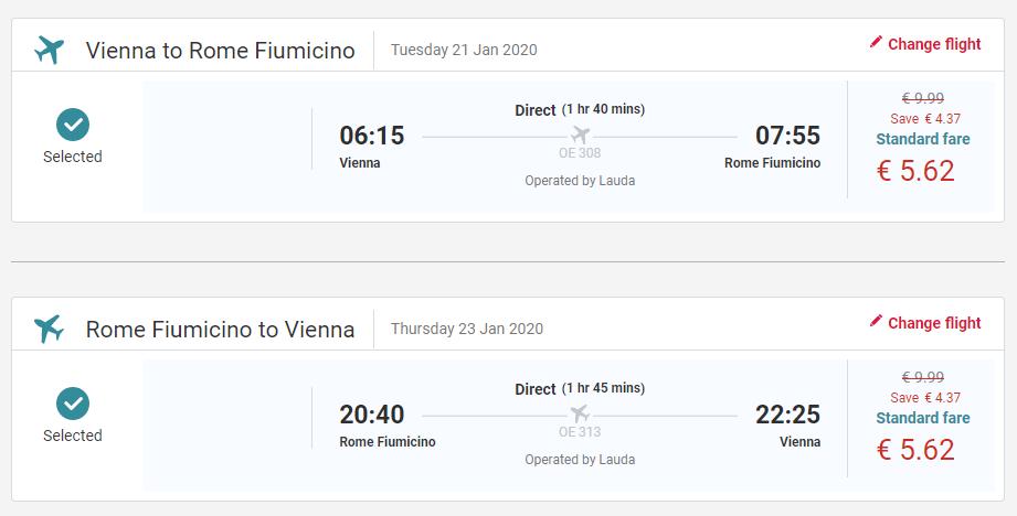 Rím z Viedne s letenkami od 11 eur