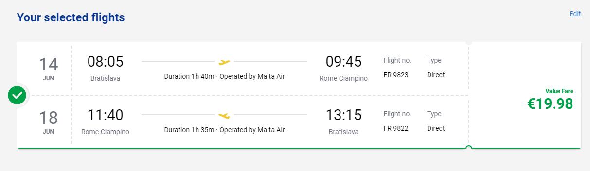 Rím začiatkom leta. Spiatočné letenky z Bratislavy od 20 eur