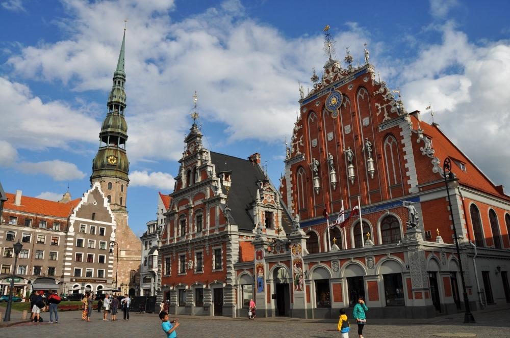 Riga - najkrajšie námestie mesta
