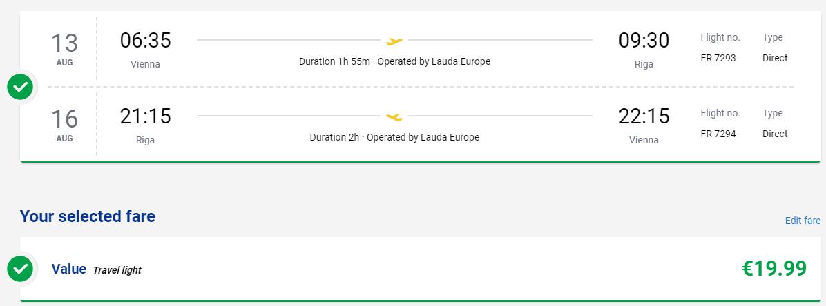 Riga z Viedne s letenkami aj na predĺžený víkend od 20 eur