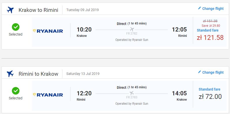 Rimini cez letné prázdniny s letenkami od 46 eur