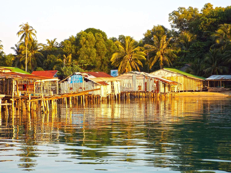 Rybárska dedina.