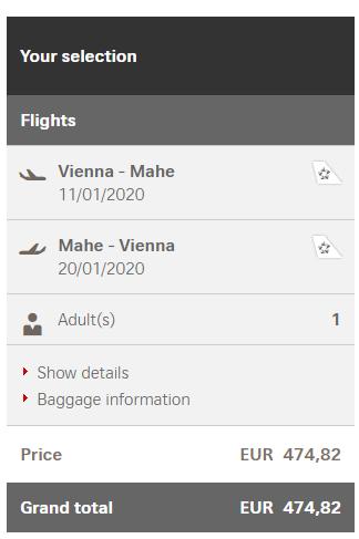 SEYCHELY - Mahe z Viedne s letenkami od 475 eur