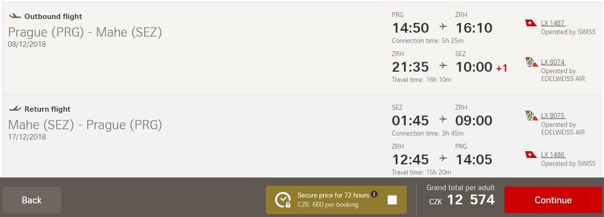SEYCHELY - Spiatočné letenky z Prahy už od 487 eur