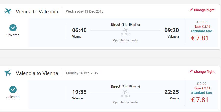 Valencia z Viedne s letenkami od 16 eur