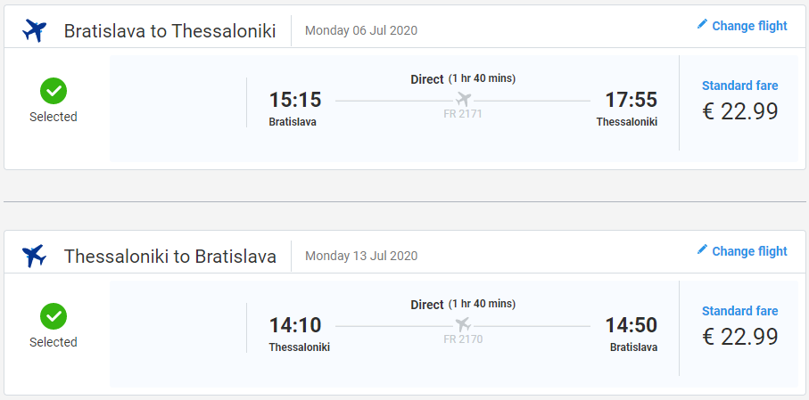 Solún z Bratislavy cez letné prázdniny s letenkami od 46 eur