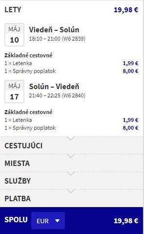 Solún z Viedne s letenkami od už od 20 eur