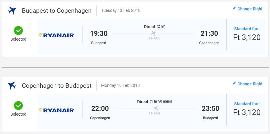 Spiatočné letenky do Kodane od 20 eur