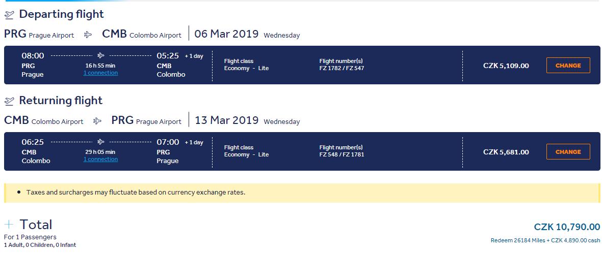Srí Lanka z Prahy s krátkou zastávkou v Dubaji. Letenky v jarných termínoch od 417 eur