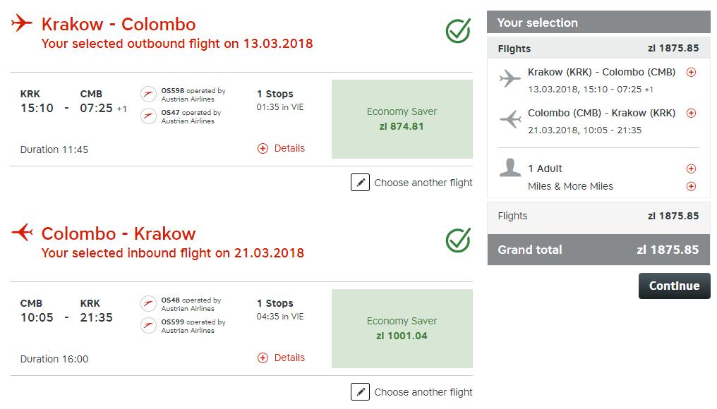 Sri Lanka z Krakova od 446 eur