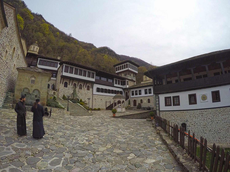St. John the forerunner Bigorski monastery