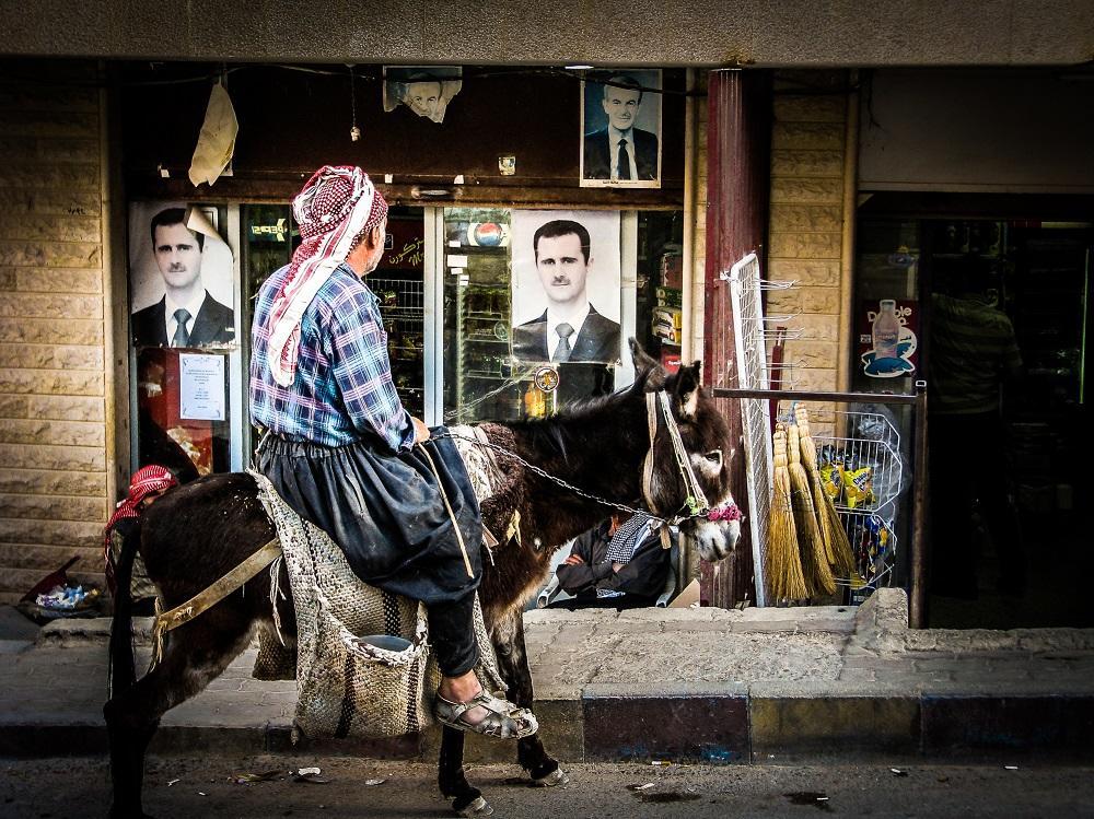 Syrcan na oslovi, Mamoula, Syria, Michal Mihal