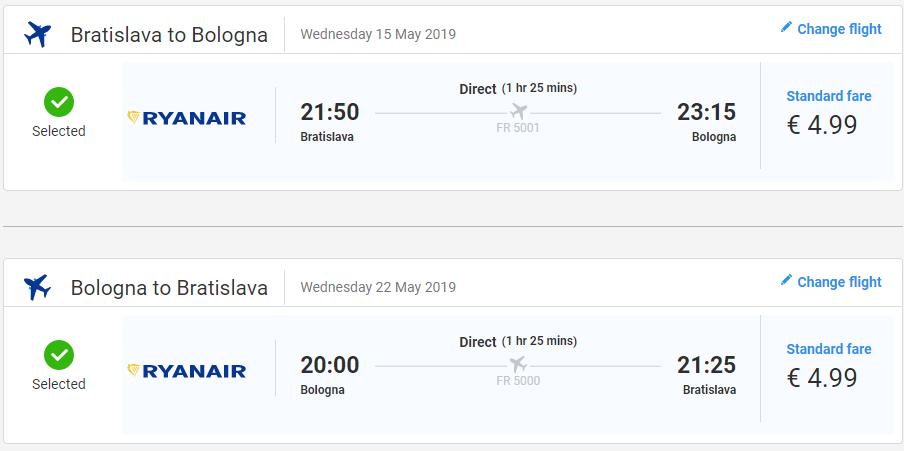TALIANSKO - Bologna z Bratislavy v májových termínoch od 10 eur