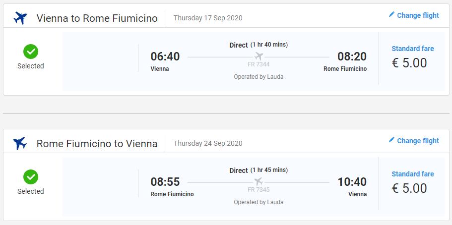 TALIANSKO - Rím z Viedne s letenkami od 10 eur