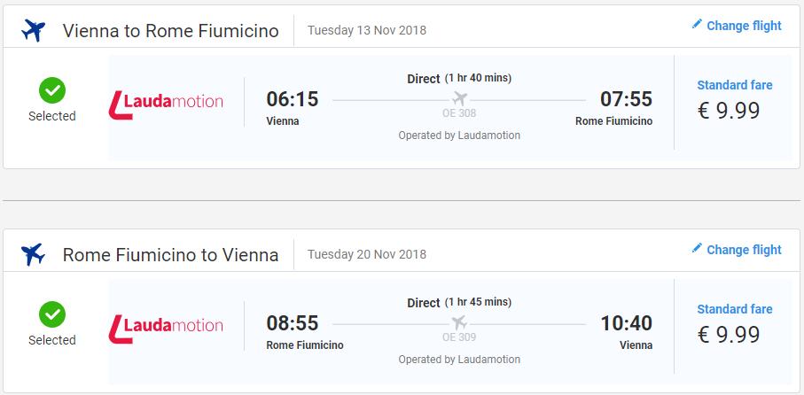 TALIANSKO - Z Viedne do Ríma s letenkami od 20 eur