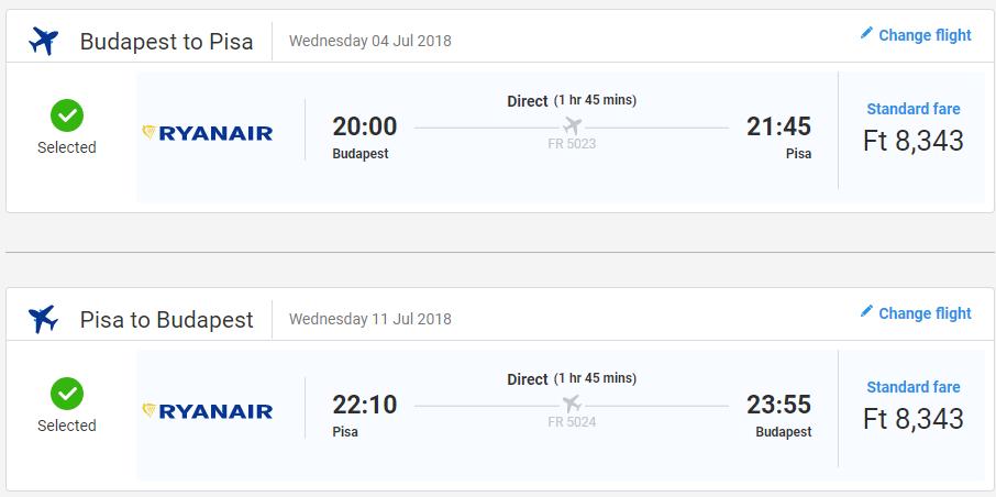 TOSKÁNSKO CEZ LETNÉ PRÁZDNINY - Pisa s odletom z Budapešti od 53 eur